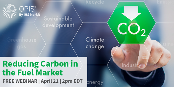 Reducing Carbon in the Fuel Market webinar