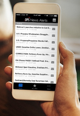 OPIS Intraday News Alerts